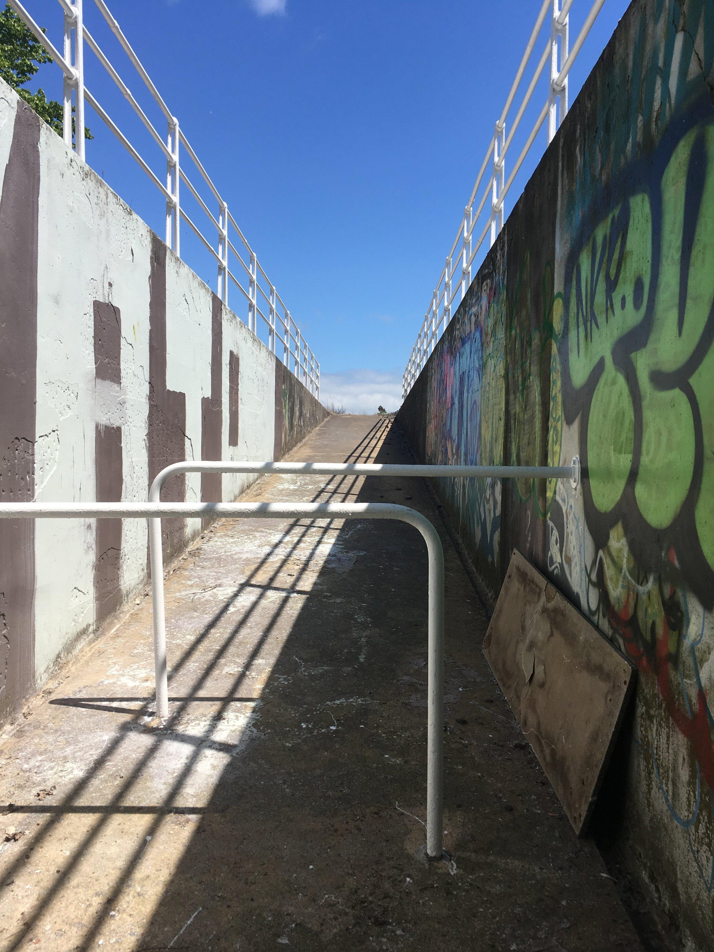 Green Island station ramp today - Karlya Smith