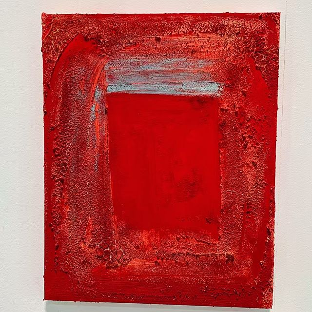 U  N  K  N  O  W  N  #materic #culture #life #day #painting #red #unknown #art #love #open @71structuralart @mariella.borraccino @paoladubais