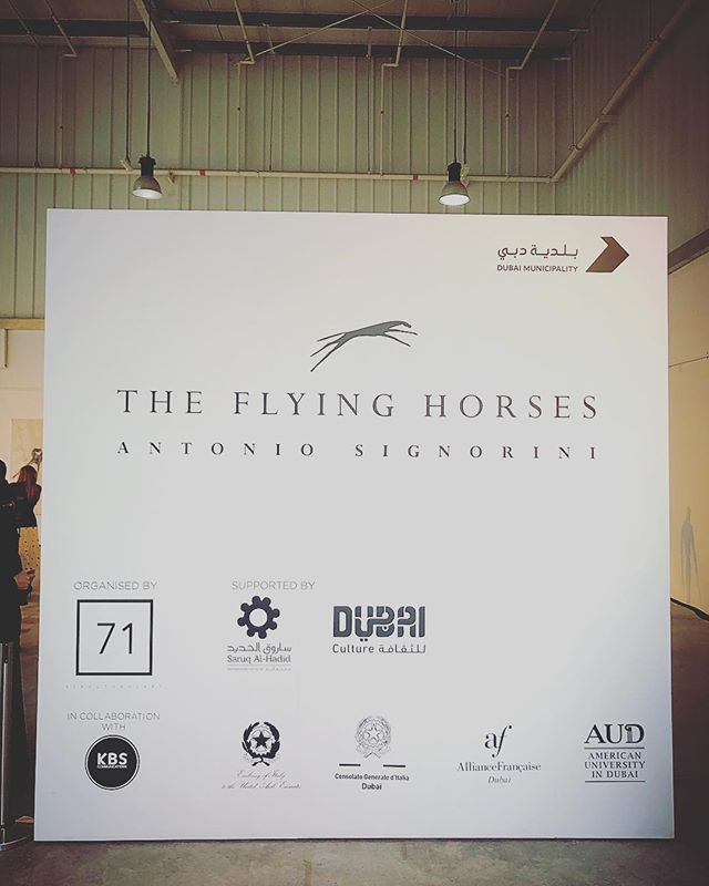 We're eagerly awaiting to showcase The Flying Horses by Antonio Signorini for the first ever time!  We look forward to welcoming you to what will be a most memorable  occasion. Remember, this is just the beginning! 71 StructuralArt will be putting on an array of publicly accessible exhibitions and panel discussions from now until 5th May! _____________________________________________________ #TheFlyingHorses #AntonioSignorini #71StructuralArt #ArtDubai #ArtWeek #DubaiArtSeason #Dubai #Art #Sculptures #Artwork #Artistry #ArtInspiration #ArtSculpture #ArtSculptures #MyDubai #MyUAE #UAE