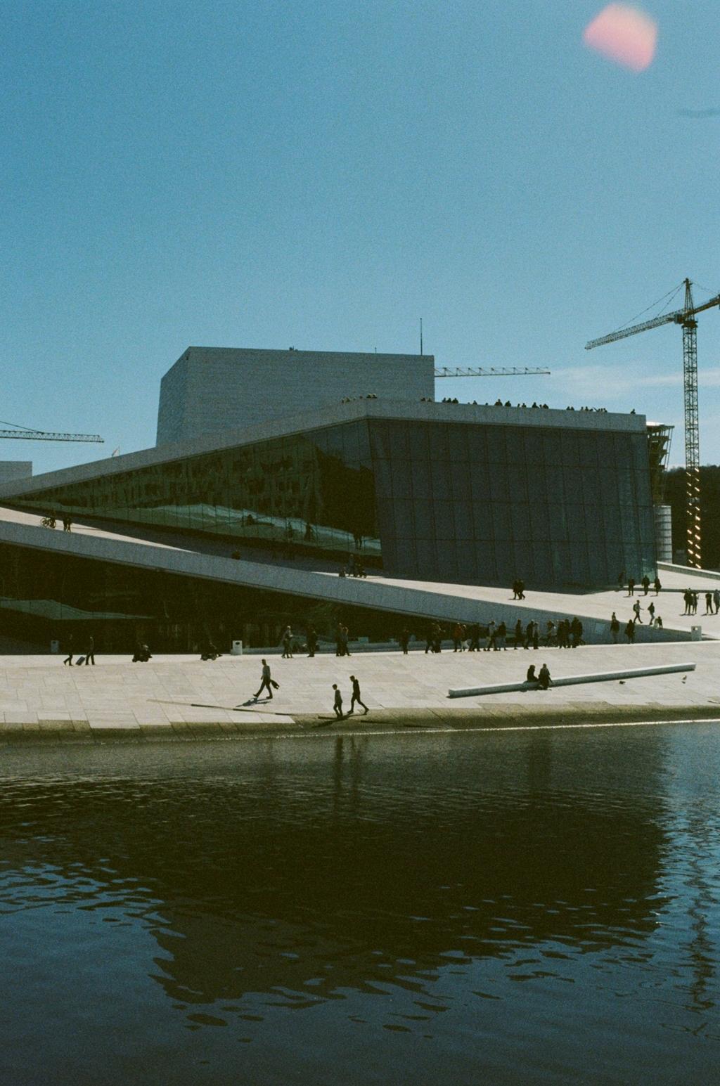 Oslo Opera House. Oslo, Norway