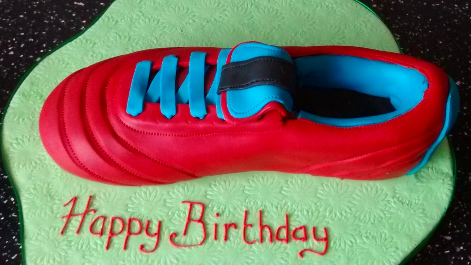 Trainer Cake £25 - Colour theme of your choice