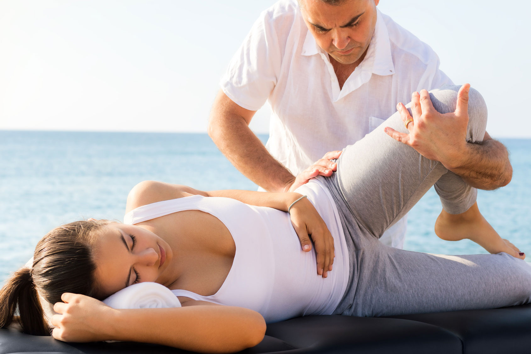 Osteopaths treat a variety of aches and pains