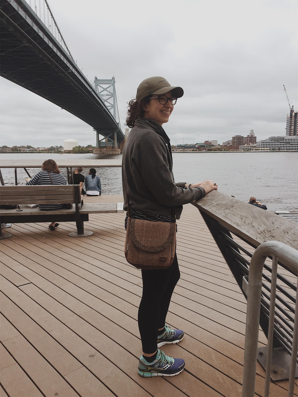 Me at one of my favorite places: Race Street Pier, Philadelphia, Pennsylvania