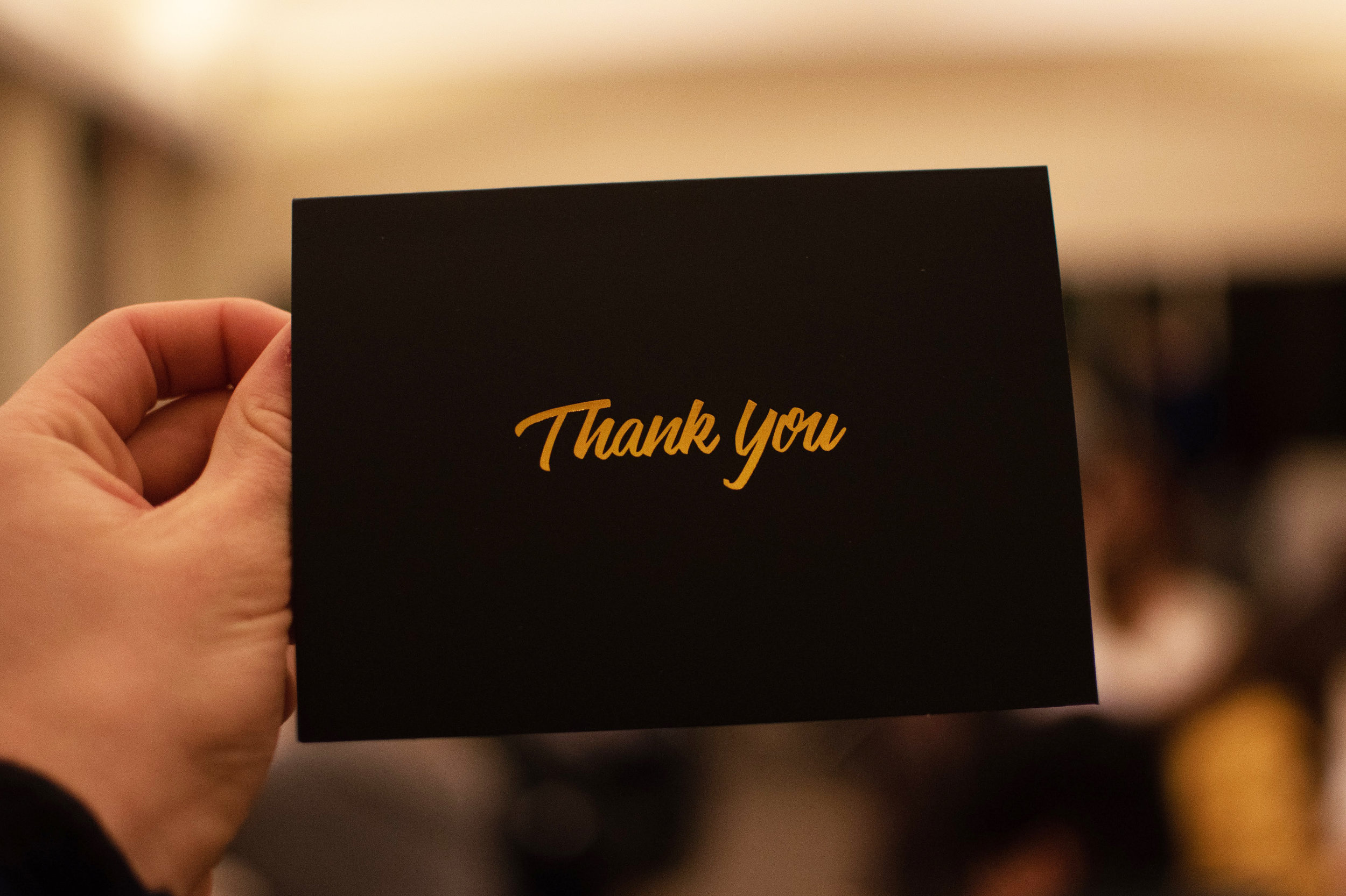THANK YOU nOTES -
