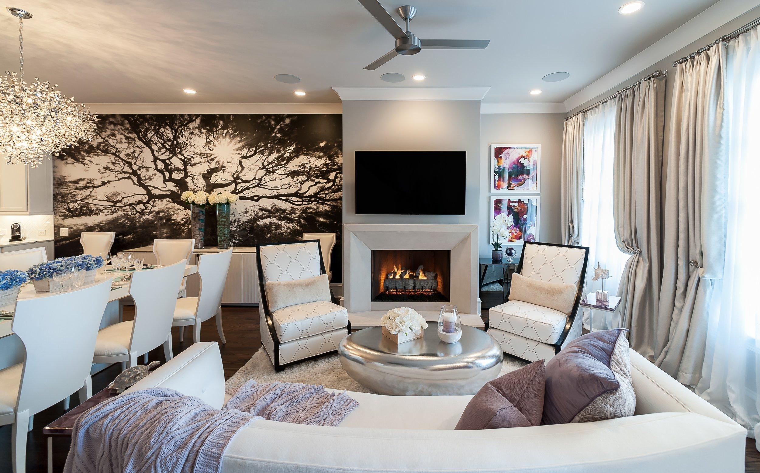 Buckhead fireplace image