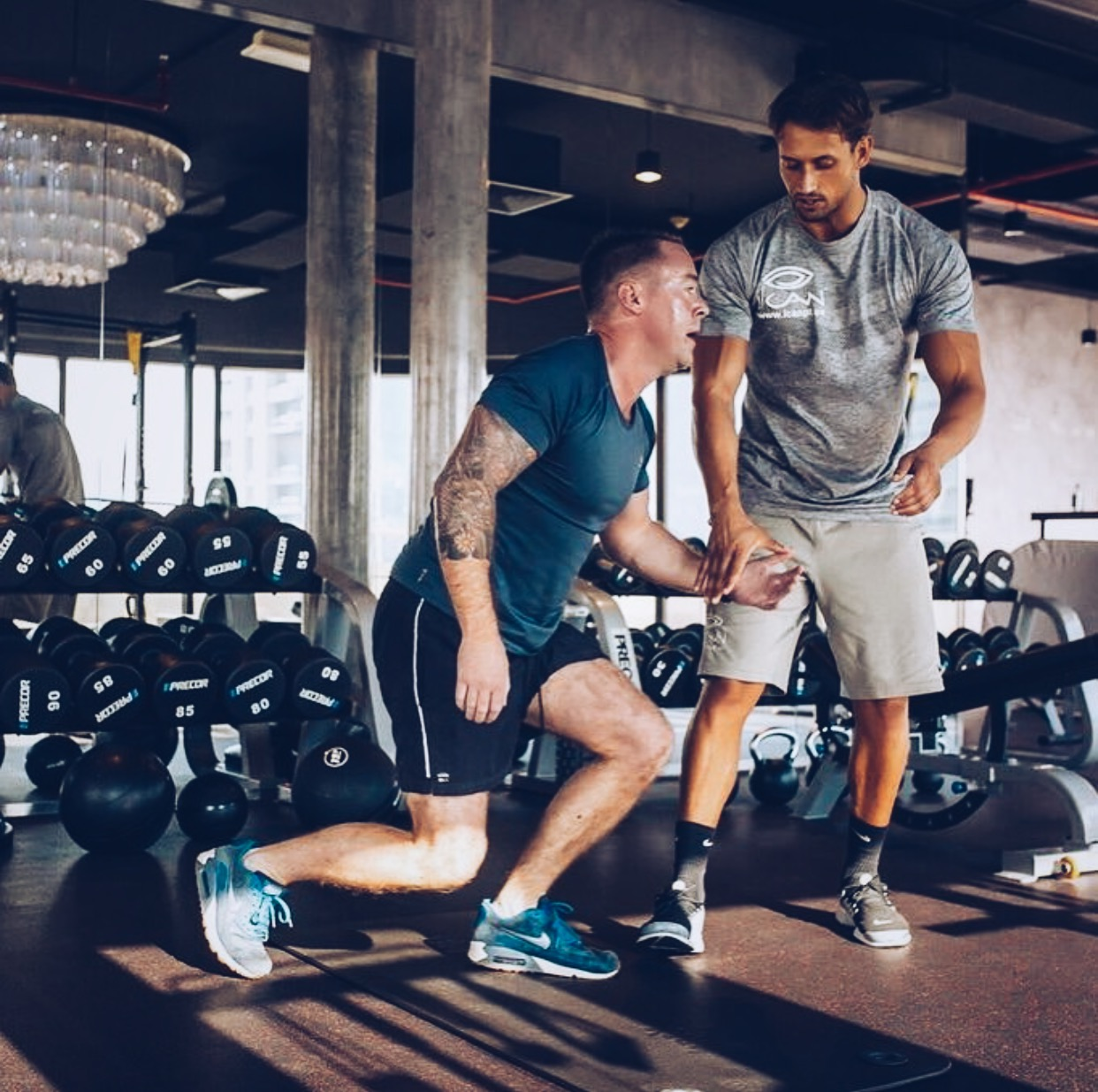 Private Personal Training - Our Trainers are here to Inspire, Motivate and Educate.