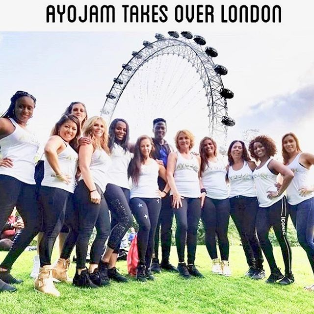Thank you London 🇬🇧 for an amazing tour and carnival experience! Lots great memories and best of all was the chance we got to #inspire #educate and #motivate all we met along the way! #ayojam #londontour2018 #joyinmotion #fitness #fun #dance
