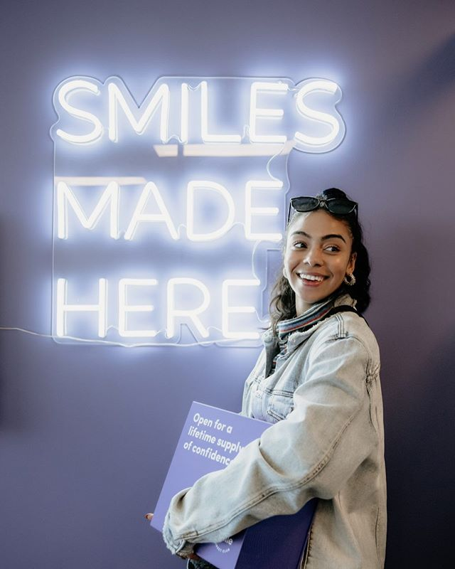 @SmileDirectClub has made it to Canada🇨🇦 I visited one of their new SmileShop locations in Toronto and my experience was amazing. My 3D image appointment was very informative, and I look forward to starting my treatment! I can't wait for you all to check it out. Use my code TAVEETASMILES to book a free 3D image appointment at your local SmileShop, and you'll get $100 off your aligner order! #SmileDirectClub #SmilePartner