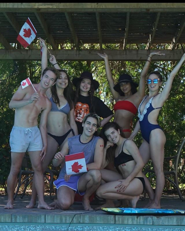 yesterday was fun eh? wishin all my fellow Canadians a splendid Canada day