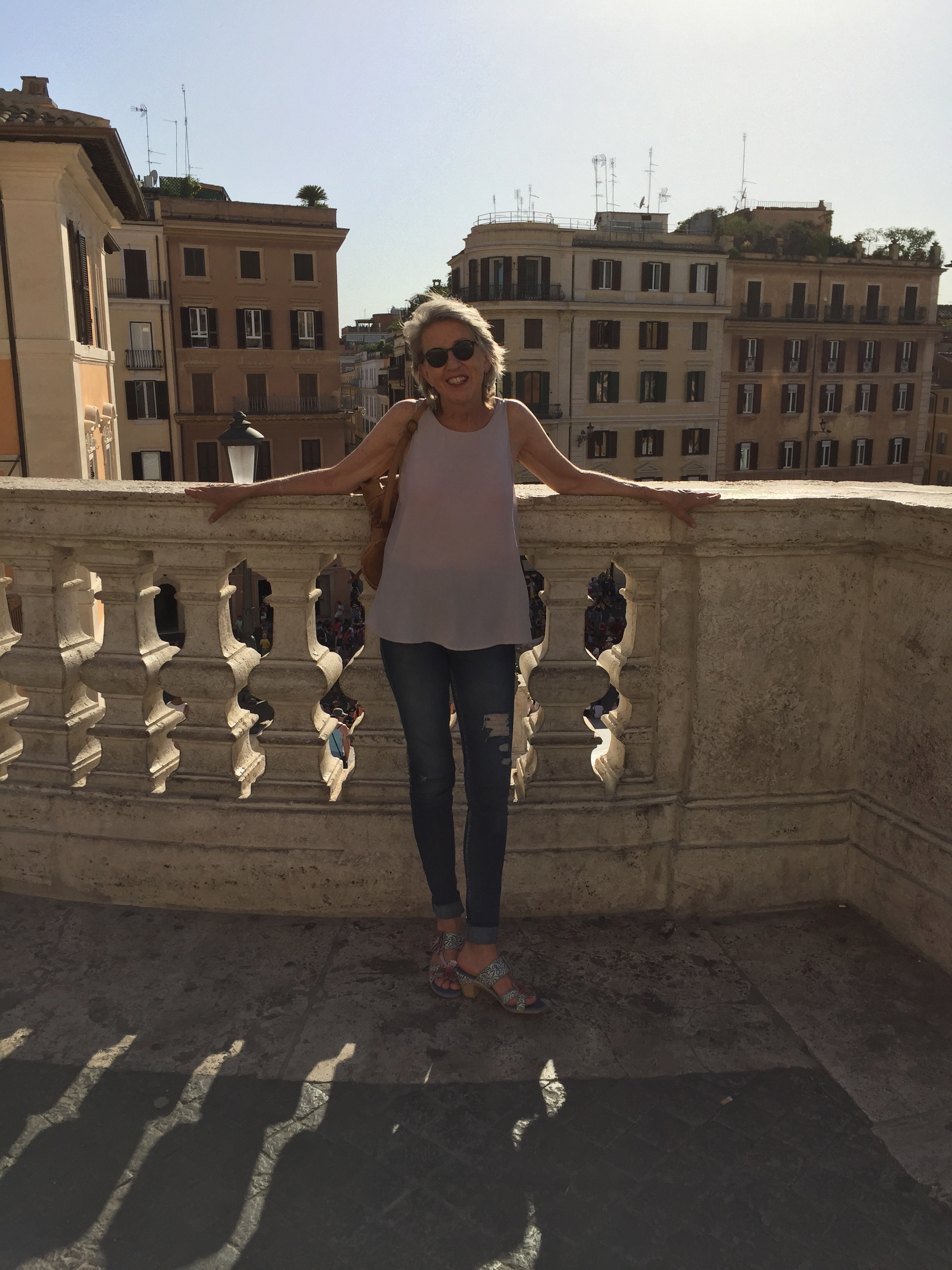 In Rome August 2017 with Alenna