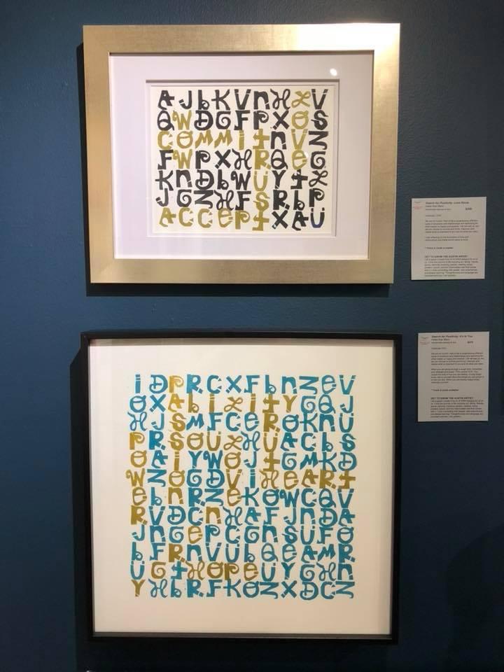 Hallie Rae Ward - Search for Positivity - Art of Celebration - Austin Art gifts.jpg