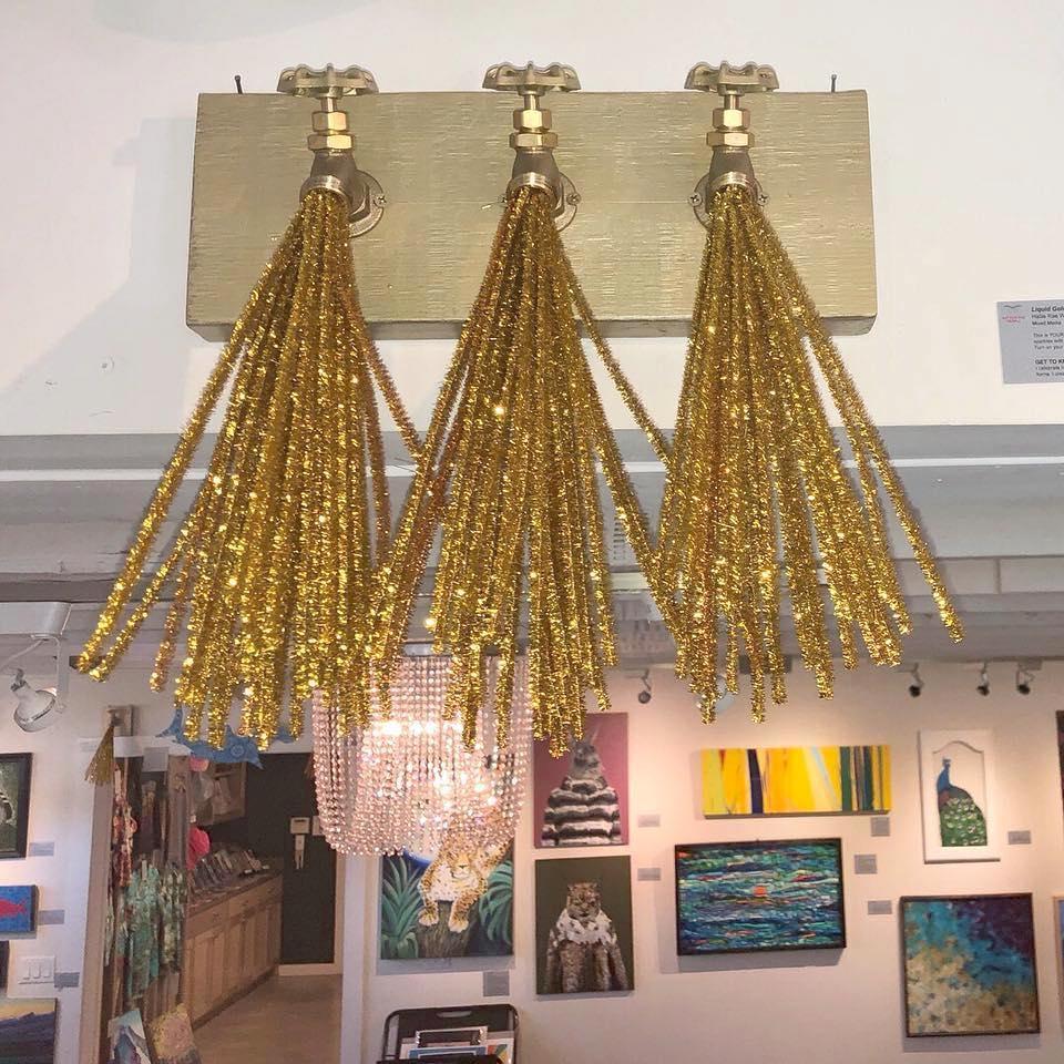 Liquid Gold Tres at Art For The People - Hallie Rae Ward - Austin ARt - Austin ARtist.jpg