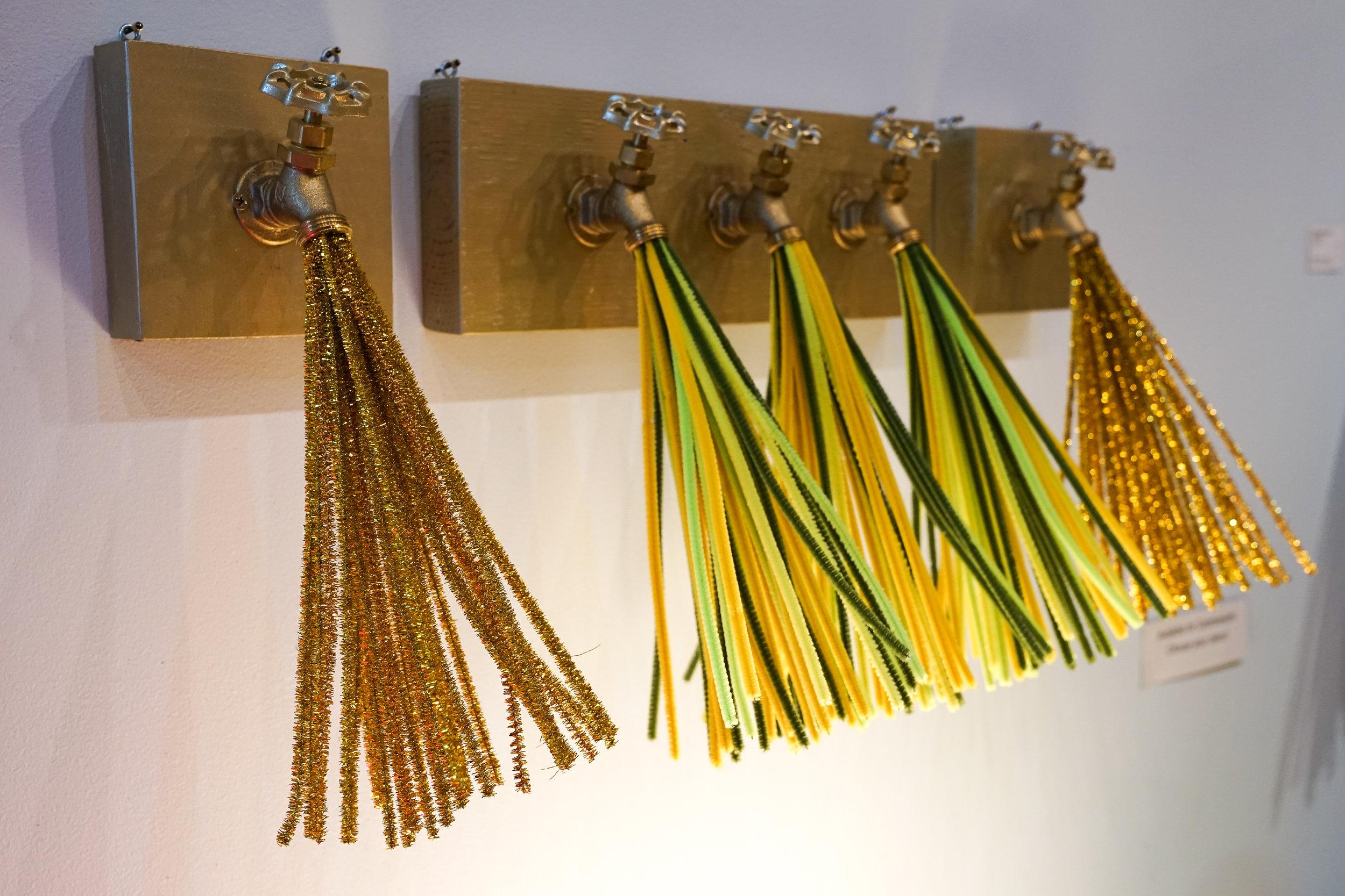 Hallie Rae Ward - East Austin Studio Tour - Waterworks series - Austin Art - Austin Artist - Contemporary Art
