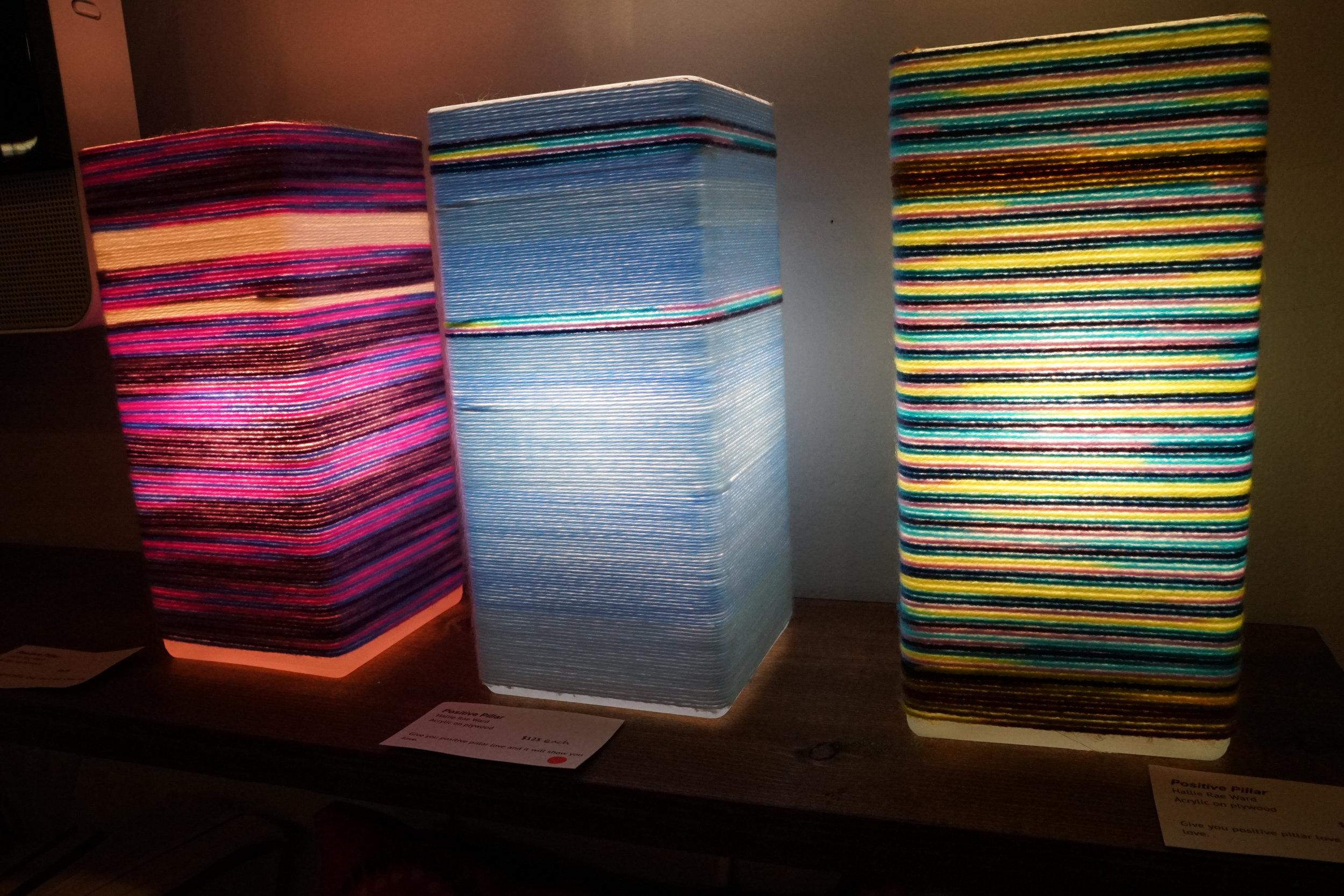 Hallie Rae Ward - East Austin Studio Tour - 7 - Austin Artist - Austin Art - Contemporary Art