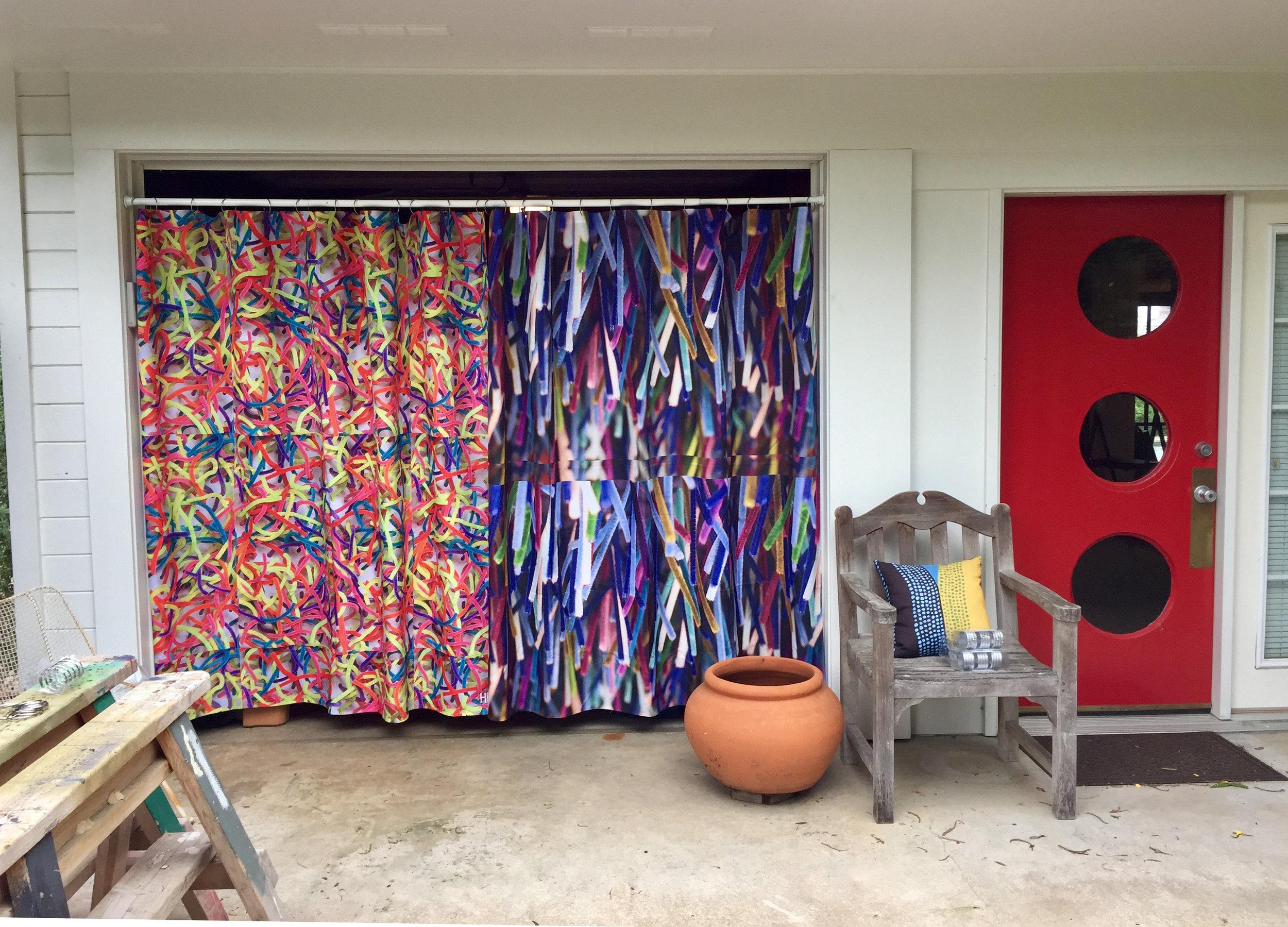 Outdoor studio shot - WEST 2019 copy - Hallie Rae Ward - Austin Art .jpg