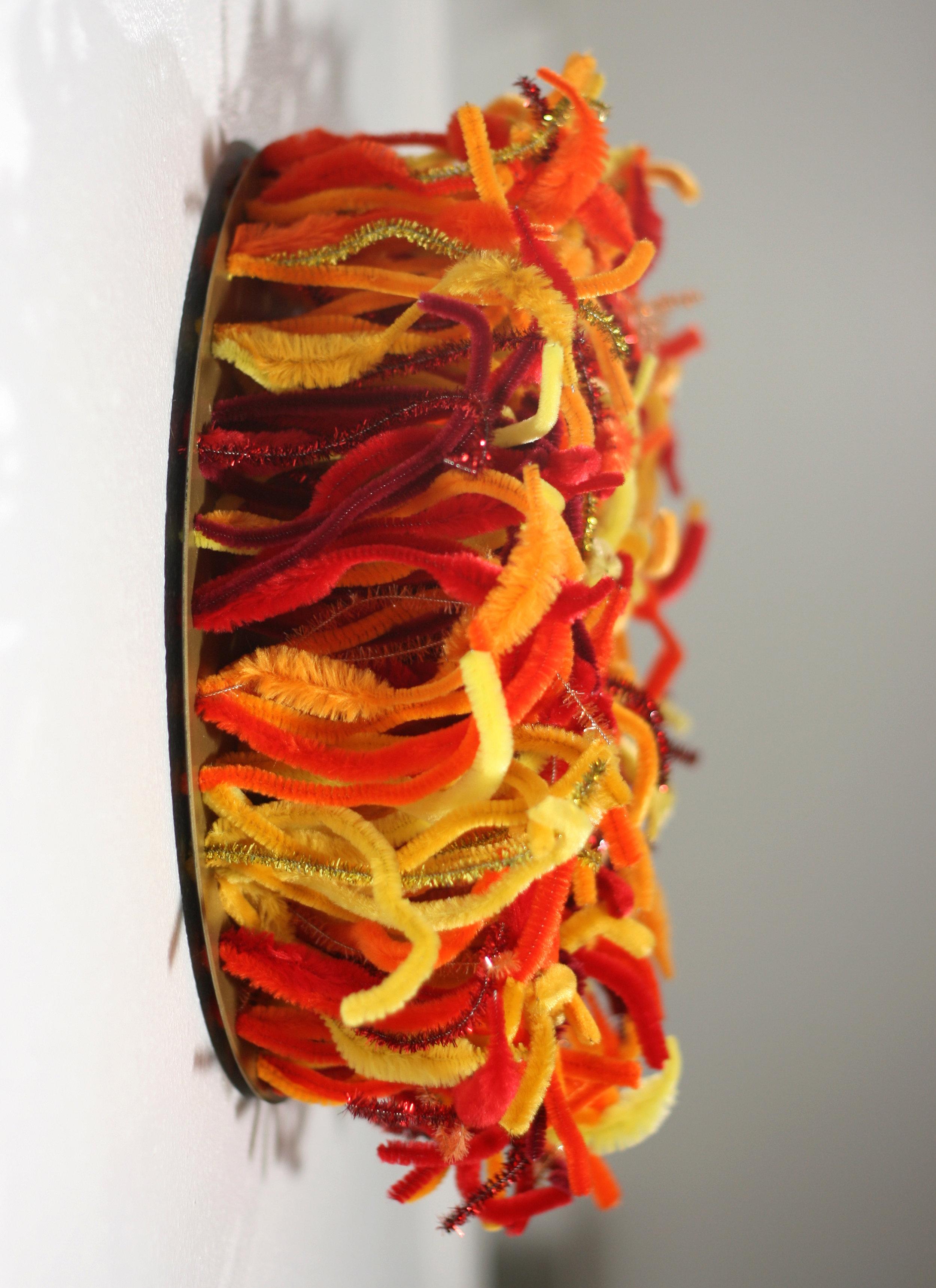 Fire Ball - direct side view - Hallie Rae Ward - Austin Art - Austin Gifts.jpg