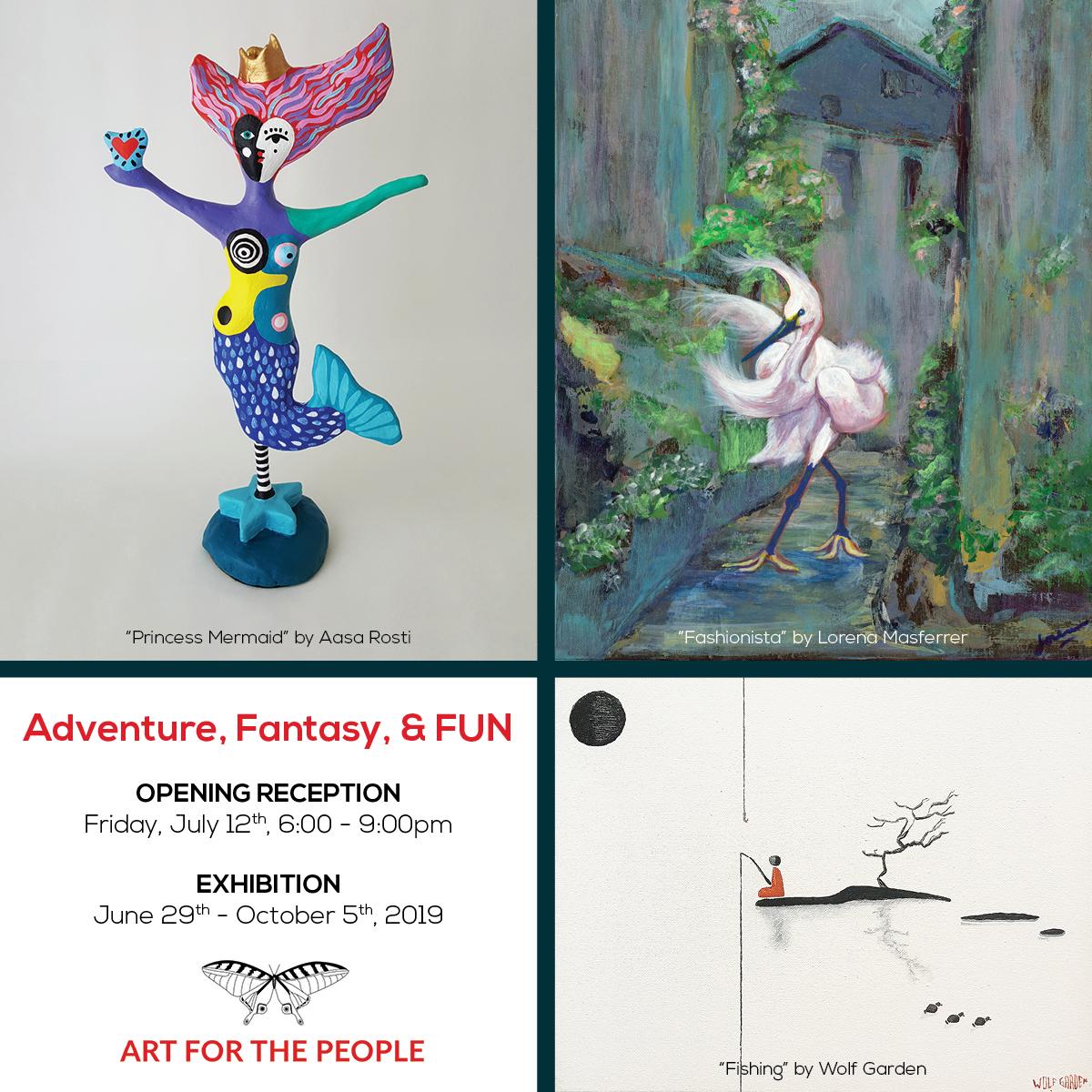 Hallie Rae Ward - Art for the People - Austin Art - Austin Gifts