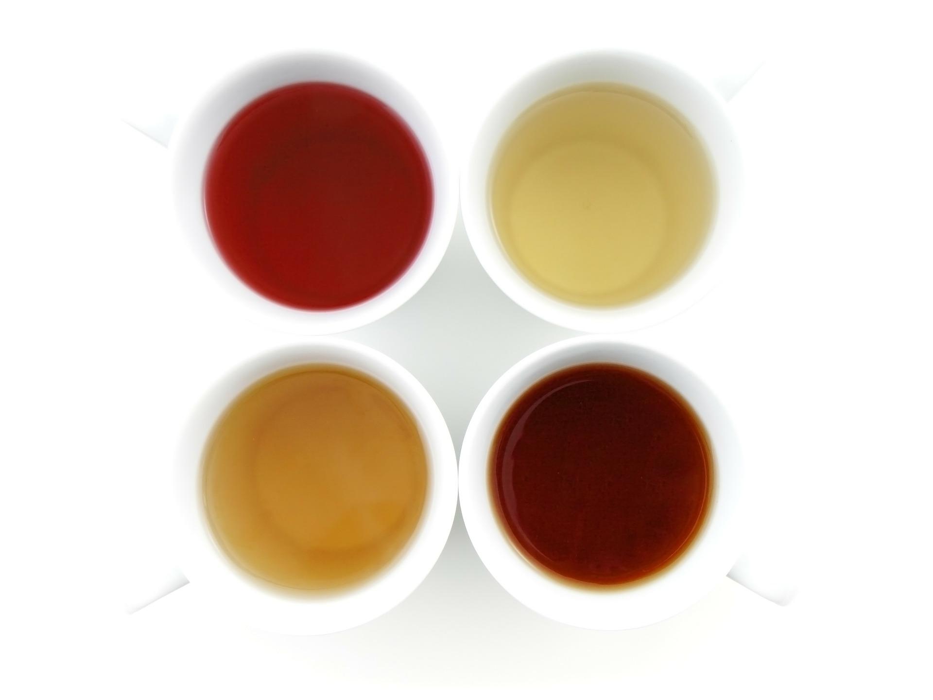 4 Types of Tea