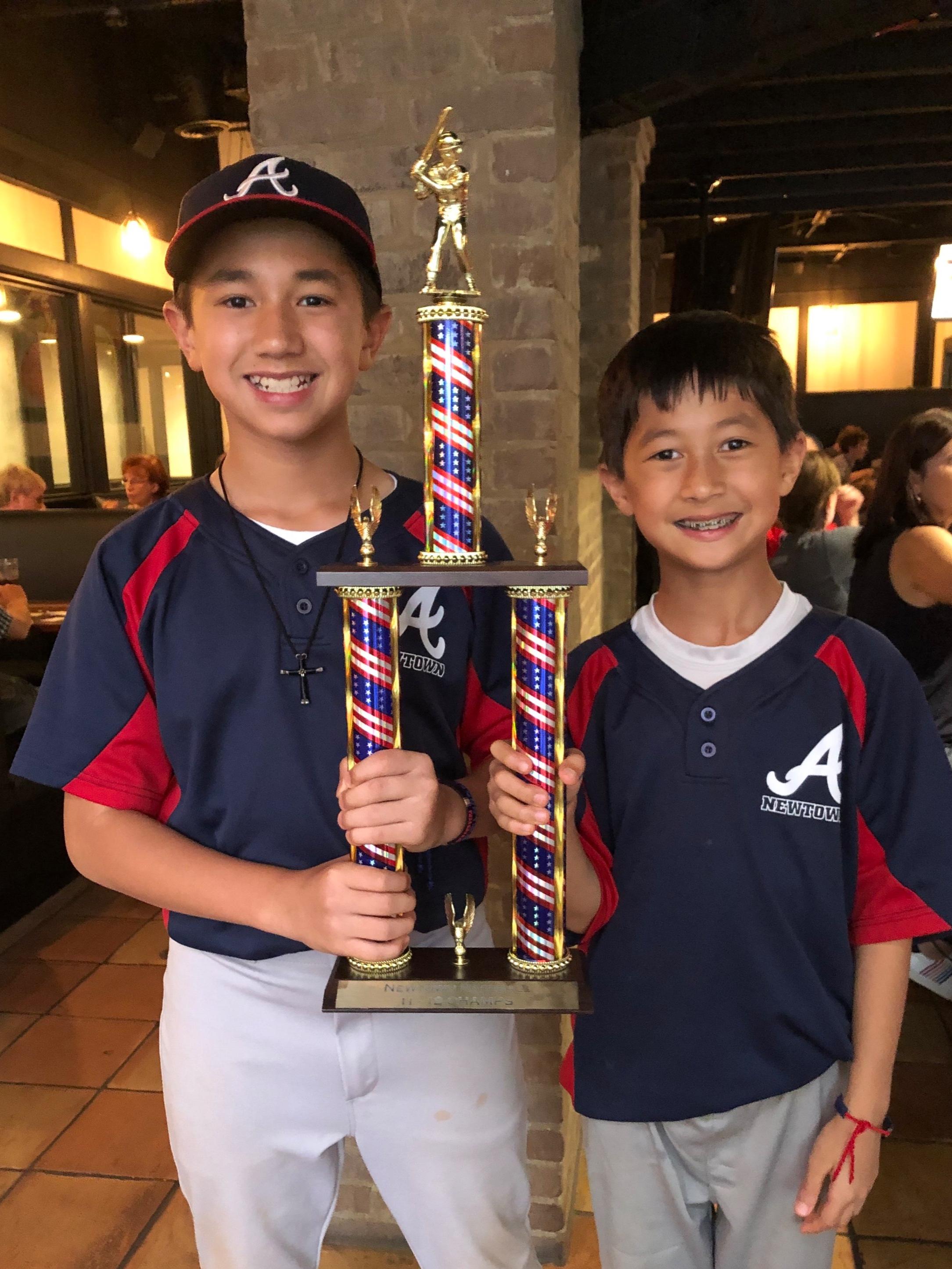 Champions Landon and Ryan