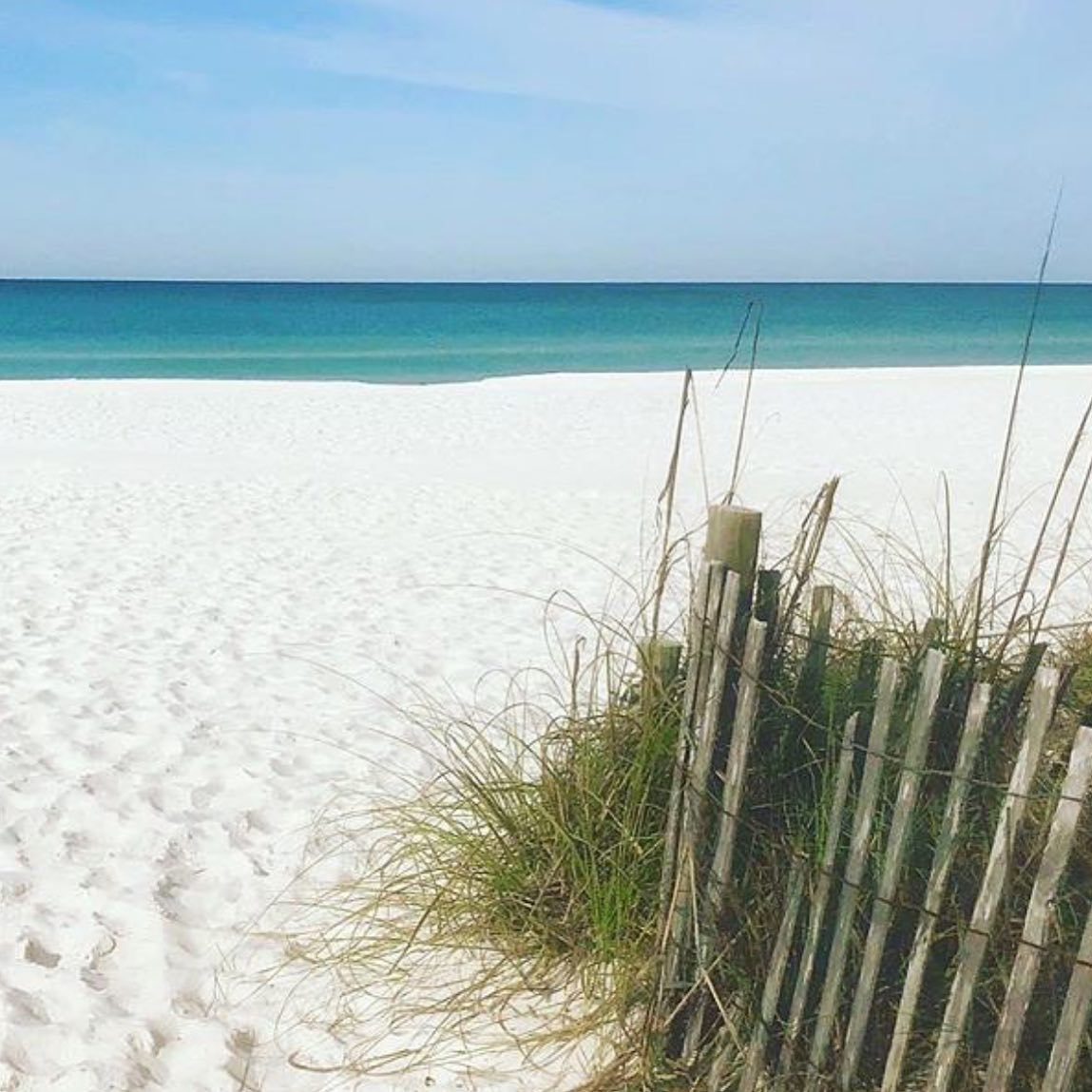 Our favorite spot on the PCB beach. Photo credit Schooners