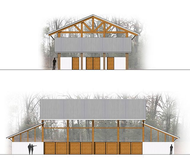 "Design study for a horse barn and stables for a farm in East Texas. _________________________________________ ""The right thing done badly is always greater than the wrong thing well done."" – Louis Kahn ______________________________ #horsebarn #horsestable #barn #stable #horses #ranch #ruraltexas #texas #woods #rendering #architecturalrendering #louisianaarchitecture #mikemcswainarchitect #architect #architecture #design #building #architecturelovers #archilovers #archdaily #architektur #architettura #arquitectura #هندسة معمارية #建筑 #архитектура #आर्किटेक्चर"