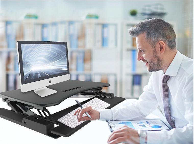 Ergonomic Height Adjustable Sit-Stand Desks
