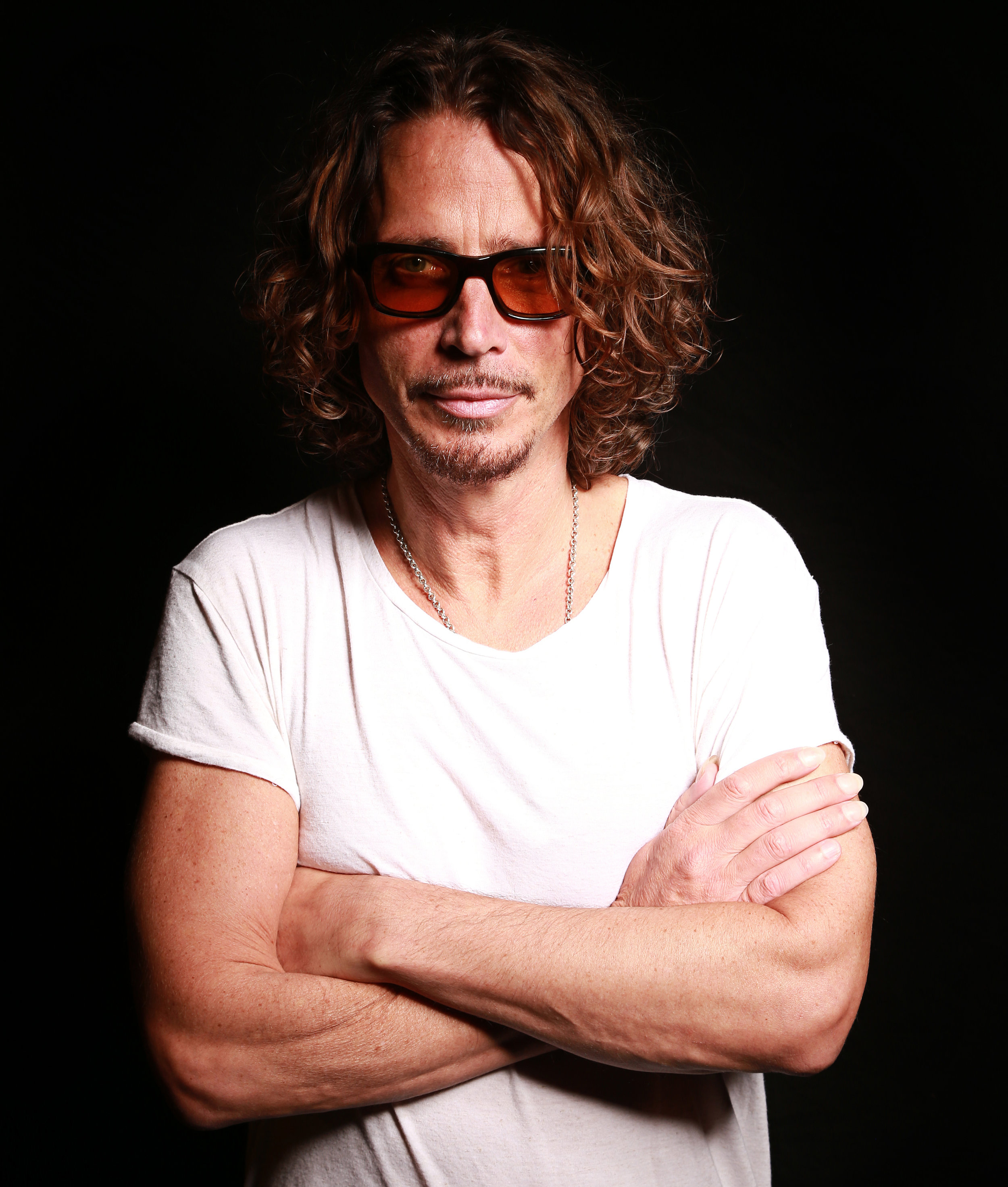 Chris Cornell performs at SiriusXM in NYC