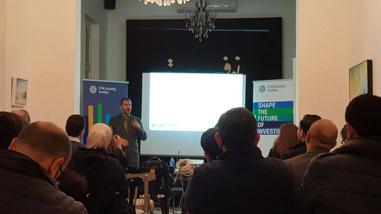 Integrating Mindfulness Workshop - CFA Society Jordan hosted Jason A. Voss, CFA who delivered an interactive workshop on