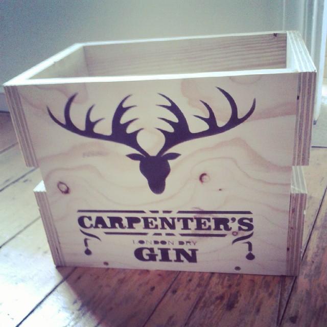 CarpentersGinCrate