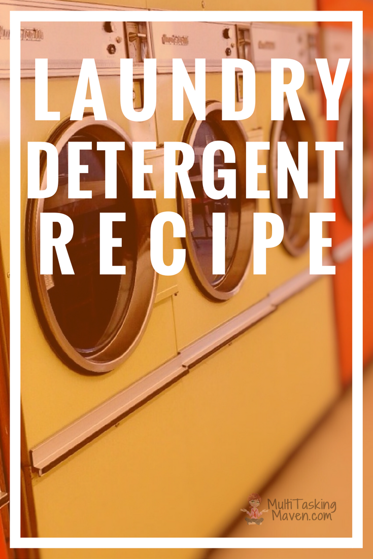 The cleaning results of homemade powder laundry detergent will impress, but the monthly savings will shock you! Before you start your own batch, be sure to catch our tip to avoid a bubble explosion. Depending on the size of your family and laundry load, recipe included for a three to six month's supply of detergent included. http://multitaskingmaven.com/blog/homemade-detergent