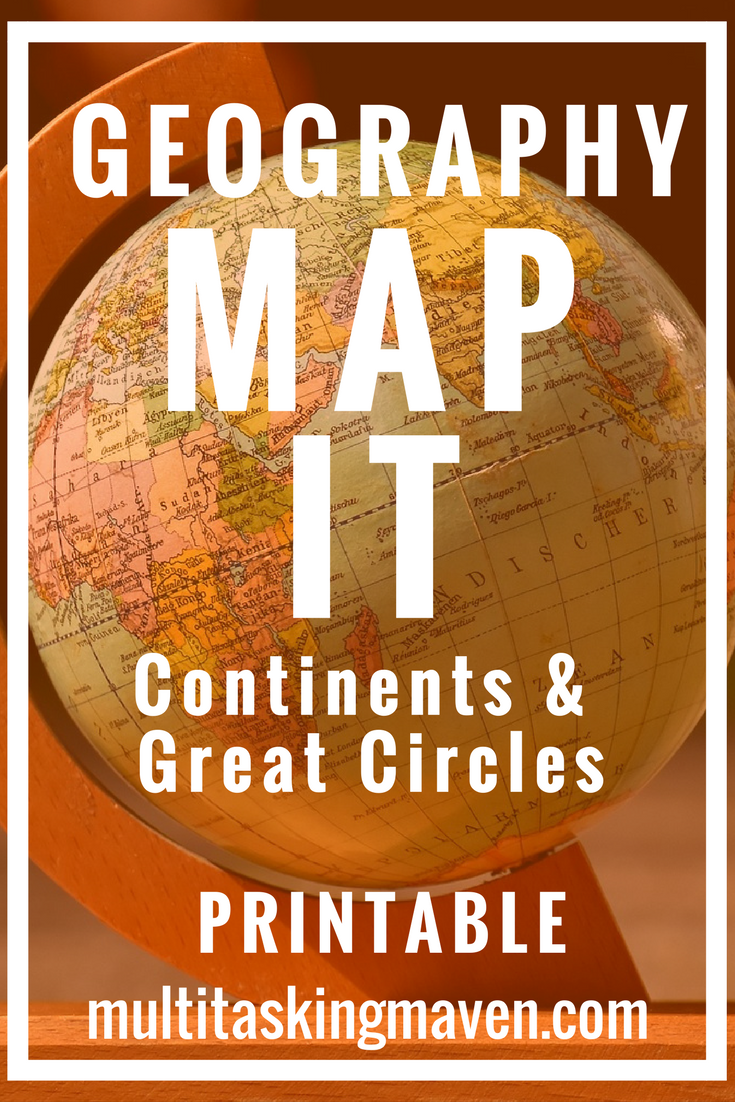 f your child can draw 7 circles and straight lines, I can teach you the seven continents, Tropic of Cancer, Tropic of Capricorn, and the Equator.Grab your sketch book, a good atlas and you are ready to go. Includes step by step instruction printable and video.http://multitaskingmaven.com/blog/teach-geography