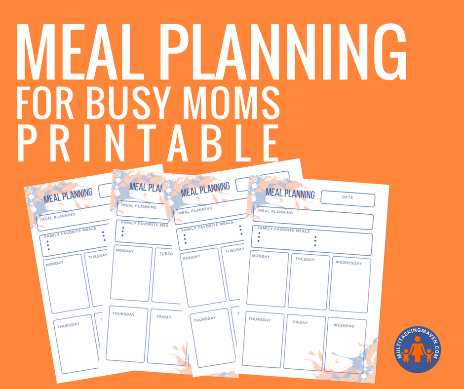 In this episode I talk with Angie Trueblood, the mama behind MealPlanningMama.com and she reveals her tip to find the recipes your family will eat and how little time it takes to meal plan. I am so excited and inspired because meal planning is the one thing that trips me up in my weekly schedule. Be sure to grab the printable for planning and all Angie's resources!  http://multitaskingmaven.com/blog/meal-planning-for-beginners