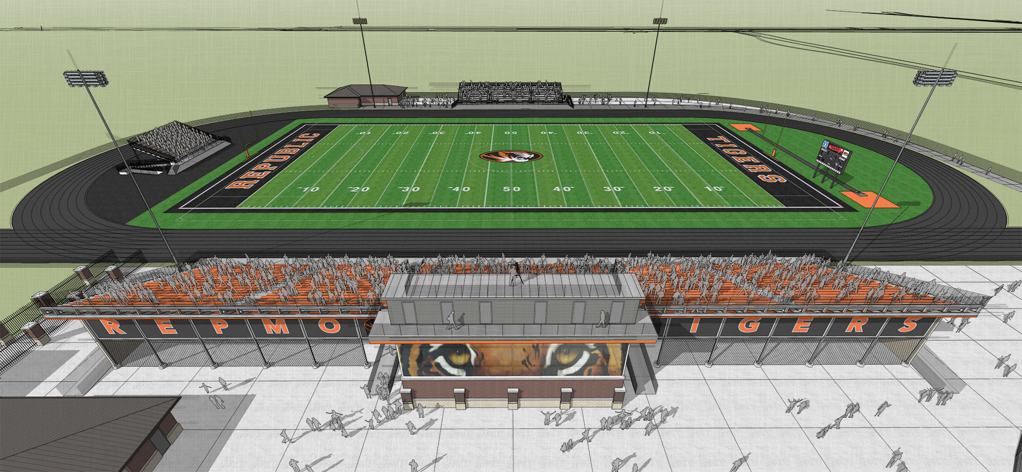 Republic High School Stadium