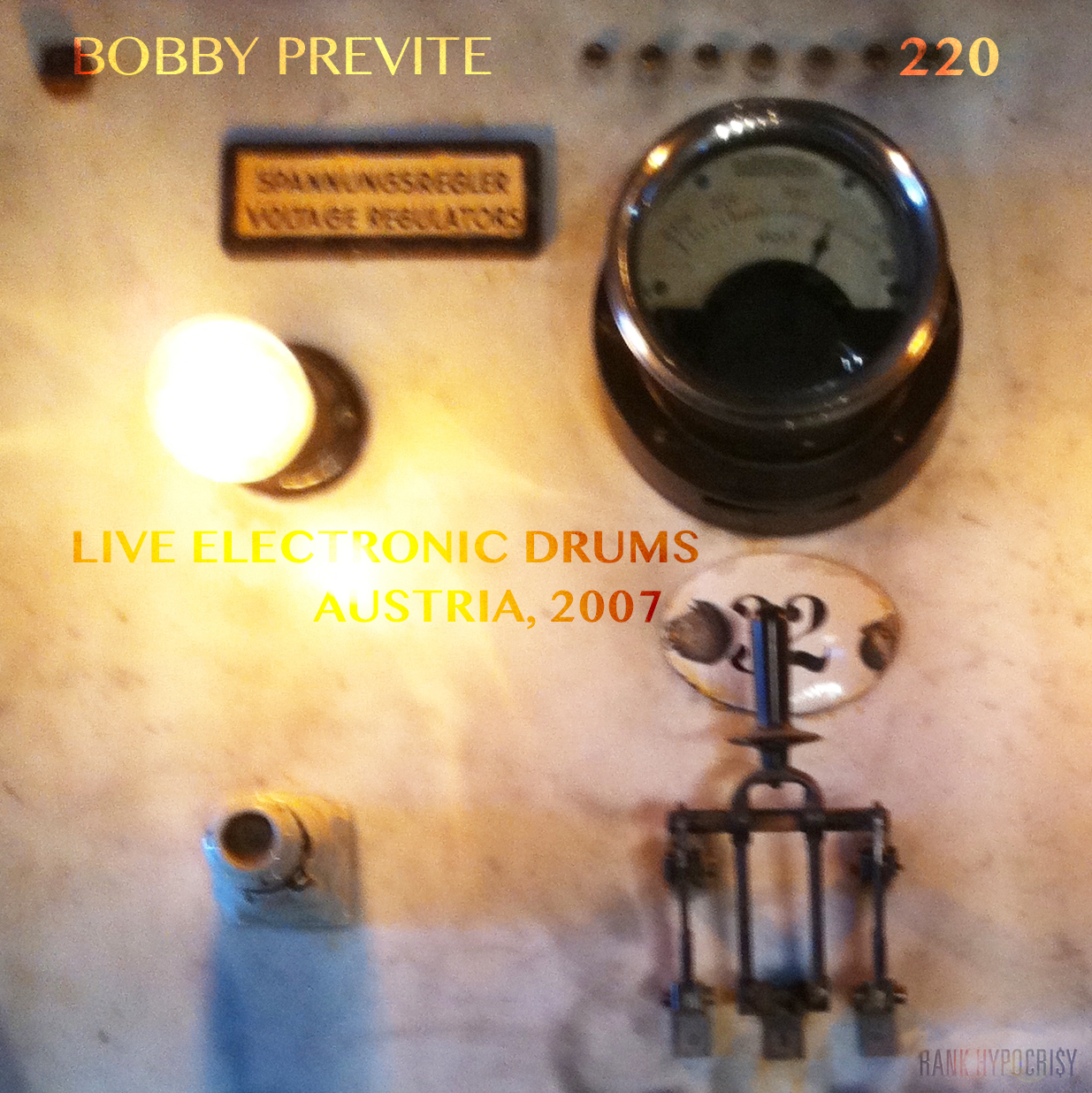 220:   first solo electronic drum concert for an audience   feat. BOBBY PREVITE, introduction by STEVE SWALLOW
