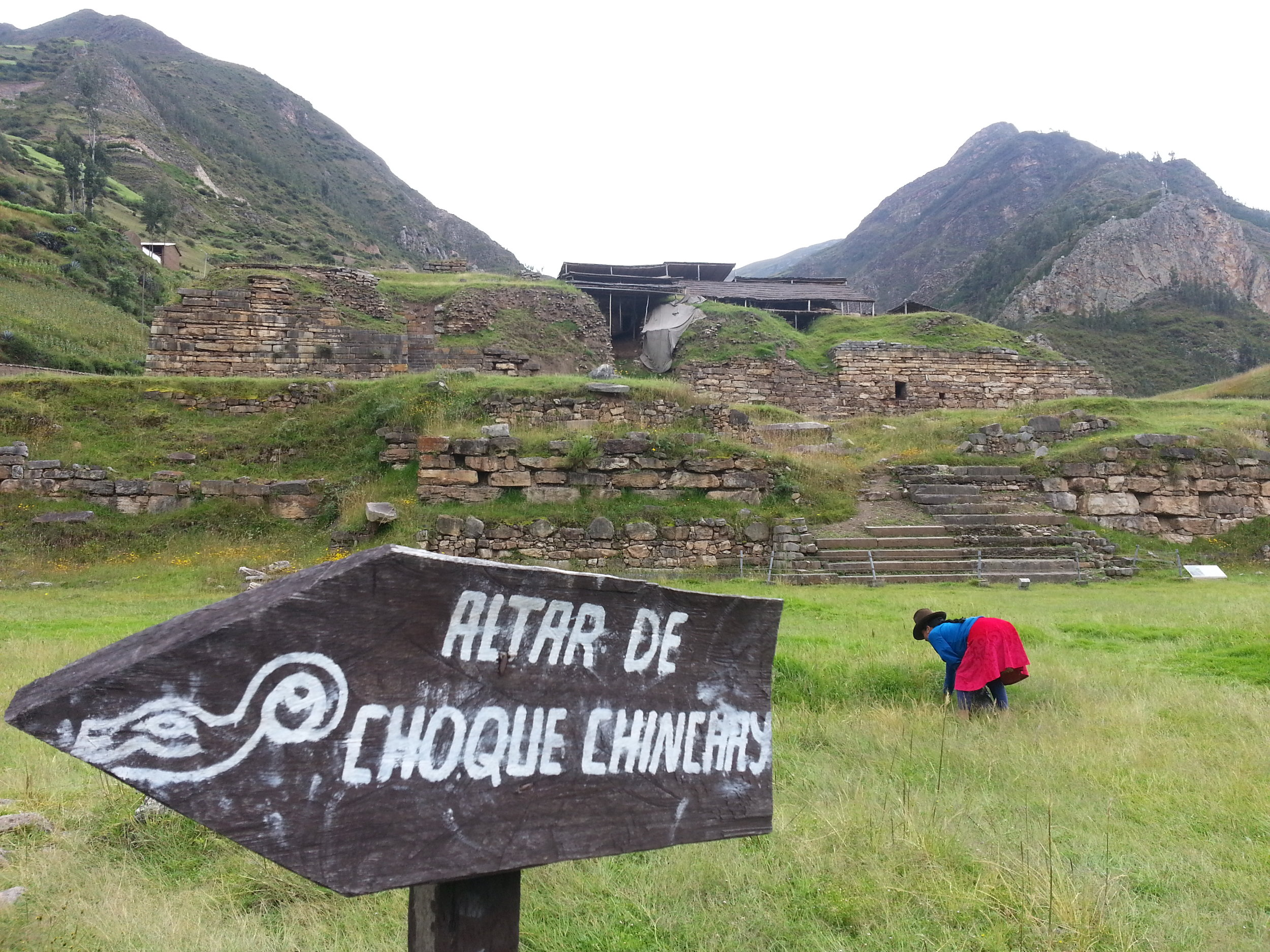 The Temple of Chavin de Huantar, Peru, an ancient ceremonial space where San Pedro rituals were performed.
