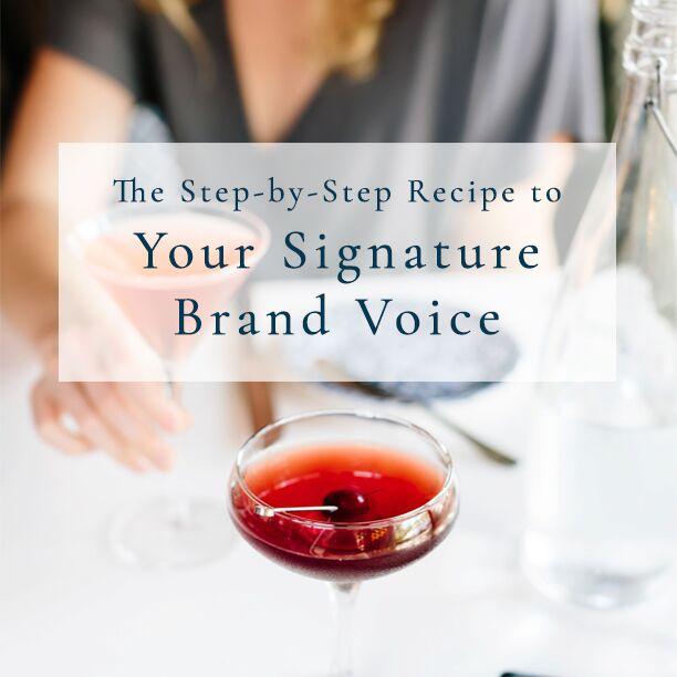 Building Your Brand Voice from Lauren Carnes