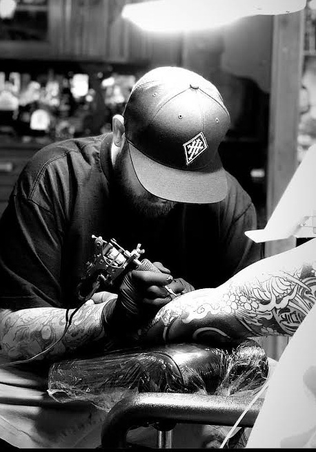 @AaronNeiman - Owner and artist, Aaron has been tattooing for over 20 years.