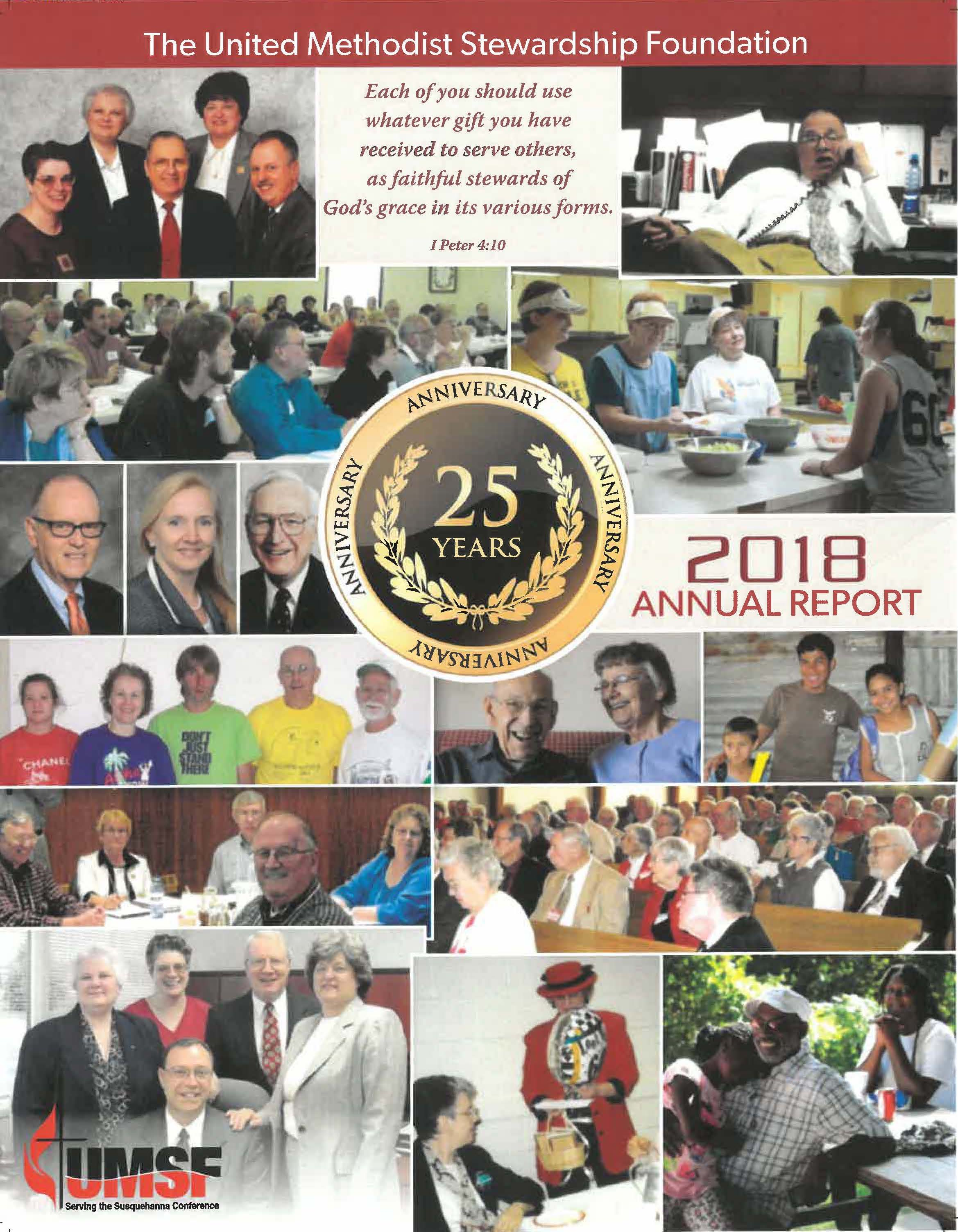 Cover of UMSF 2018 Annual Report.jpg