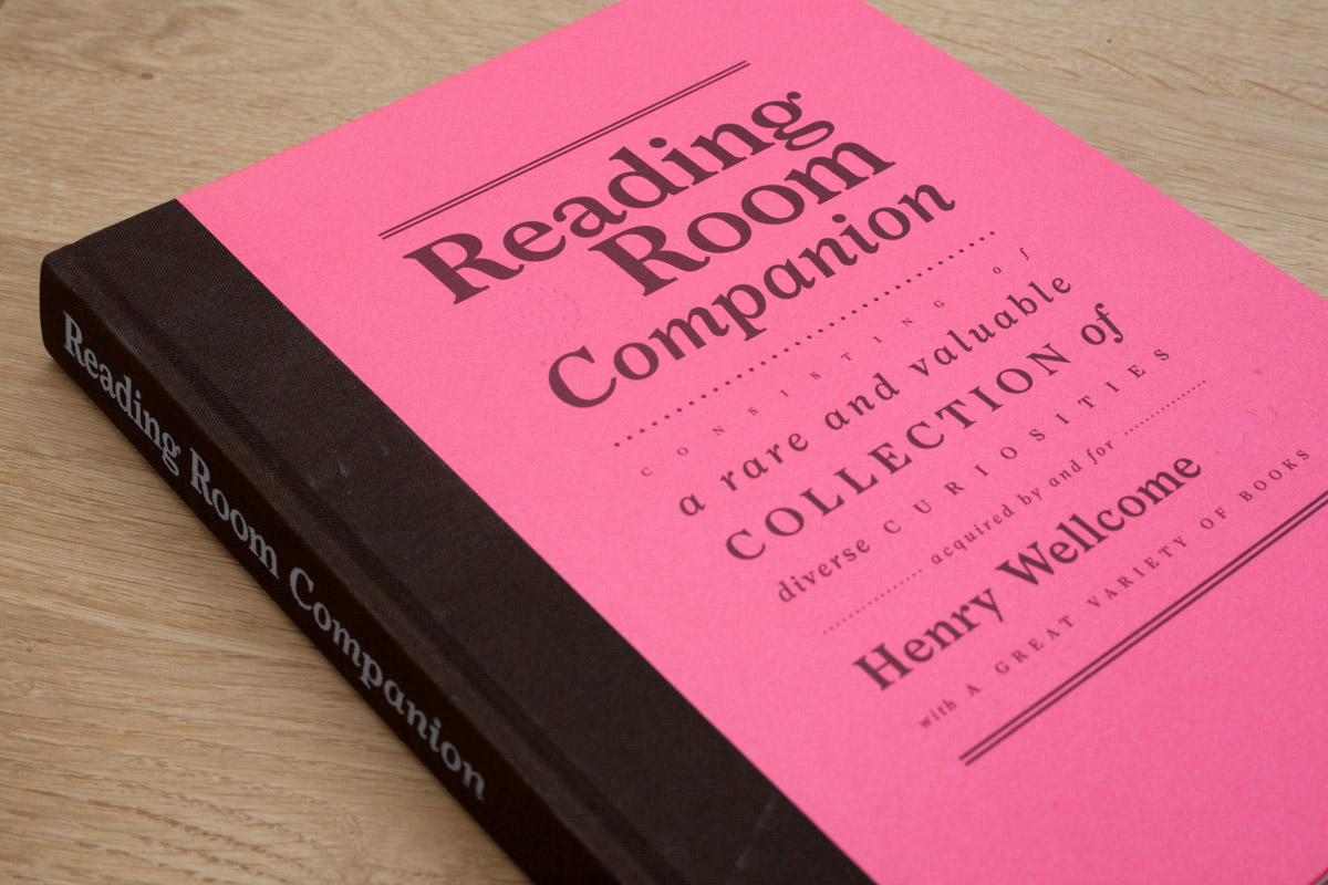 - The Reading Room Companion, for which I contributed content, was published to coincide with the opening of Wellcome Collection's redeveloped Reading Room. The full companion can be read here.