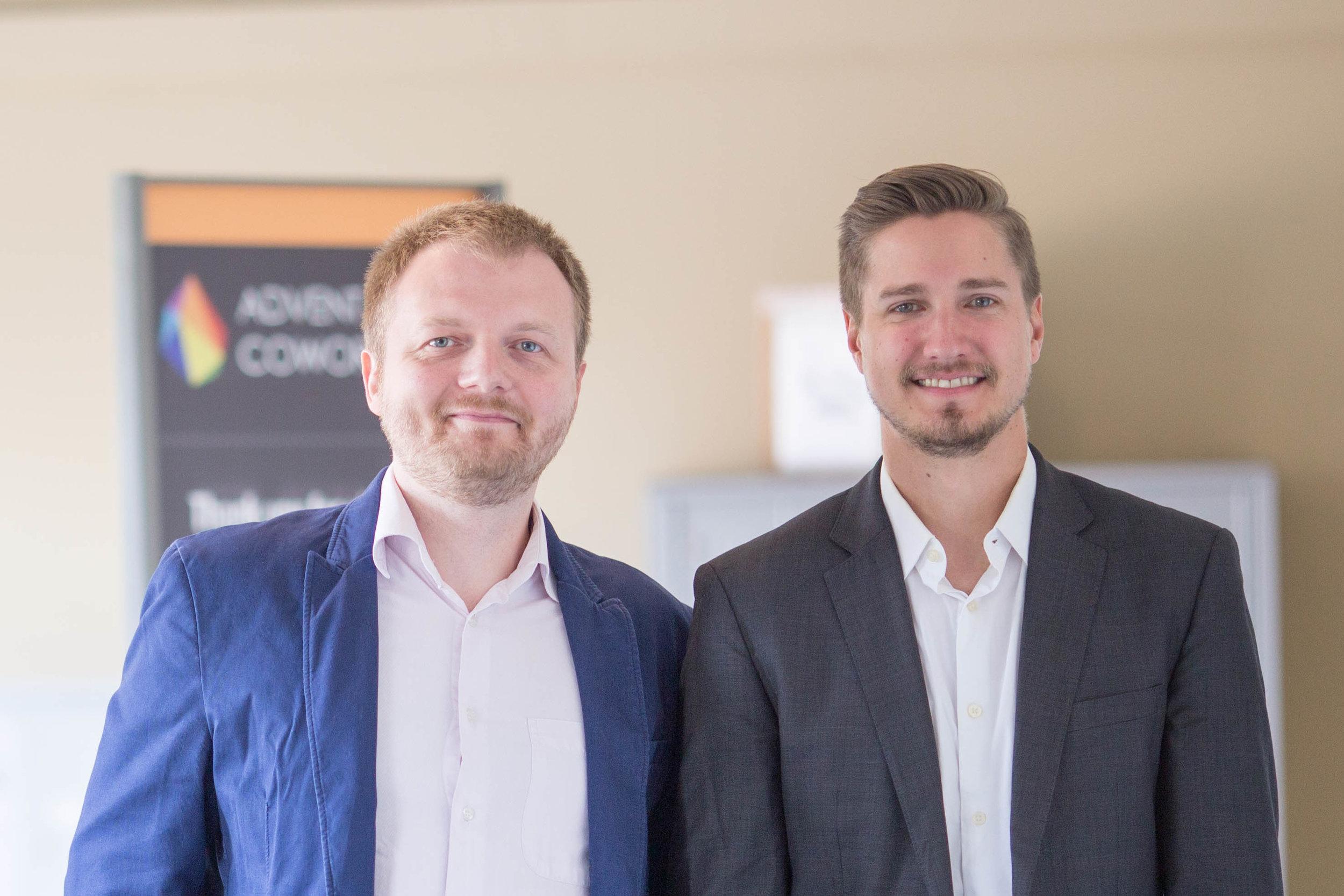 The Community MBA Founders: Igor Gorlatov and Kevin Giriunas