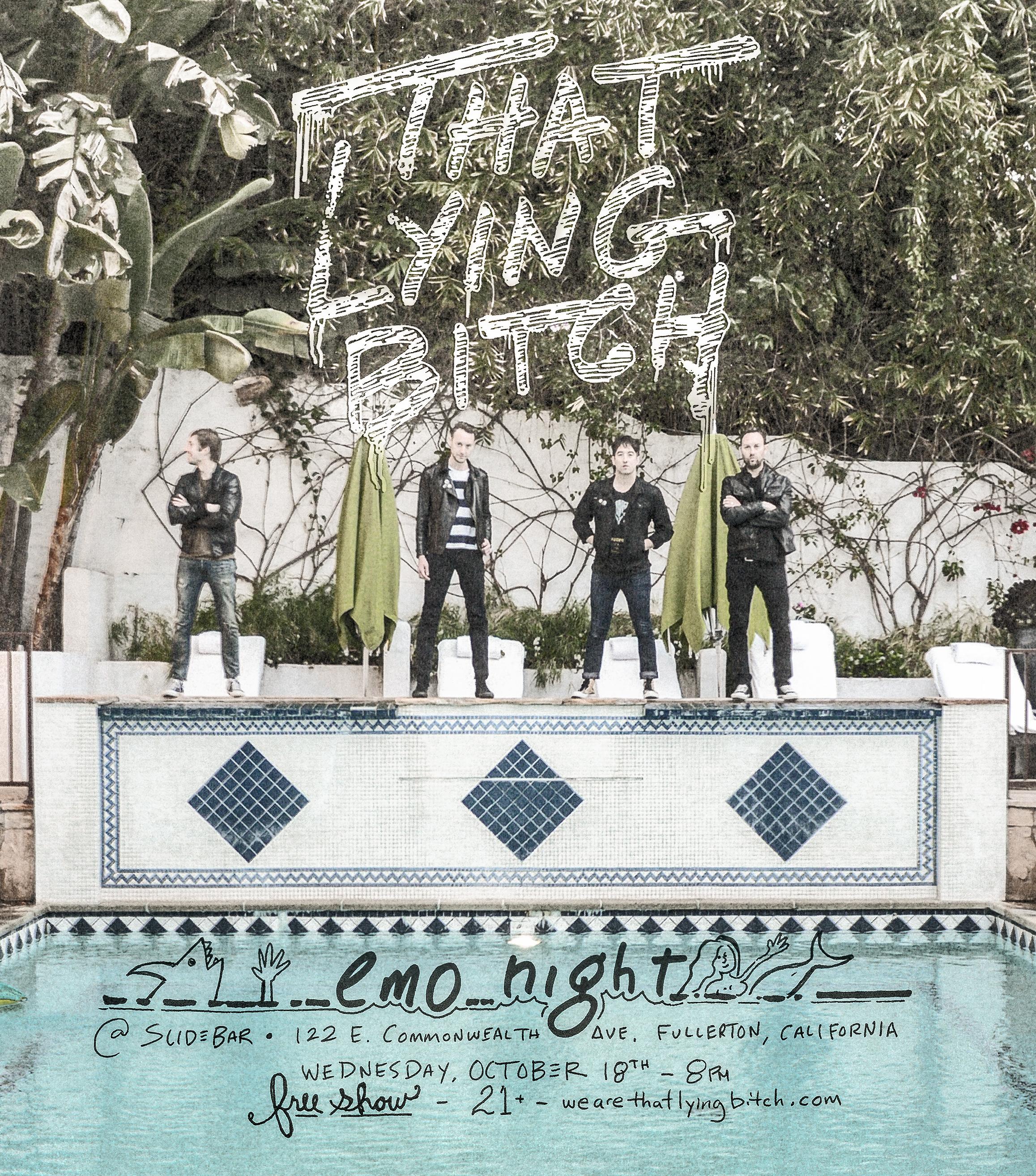 emo night flyer