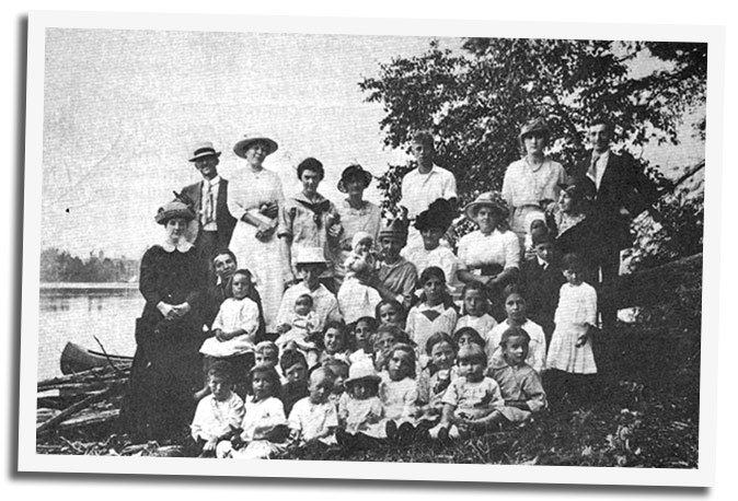 Musselman's Lake Sunday School (1914)