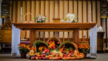 Chancel Guild - The ministry of the Chancel Guild is responsible to care for and beautify the sanctuary and altar in preparation for worship.