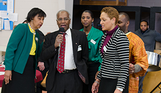 Black History Month - This active ministry organizes all the many social and cultural events which occur each February as part of Christ Church's annual celebration of Black History Month.