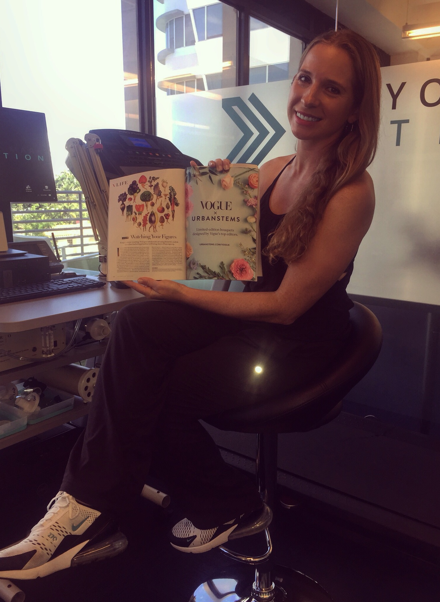 featured in vogue magazine as A next generation nutritionist -