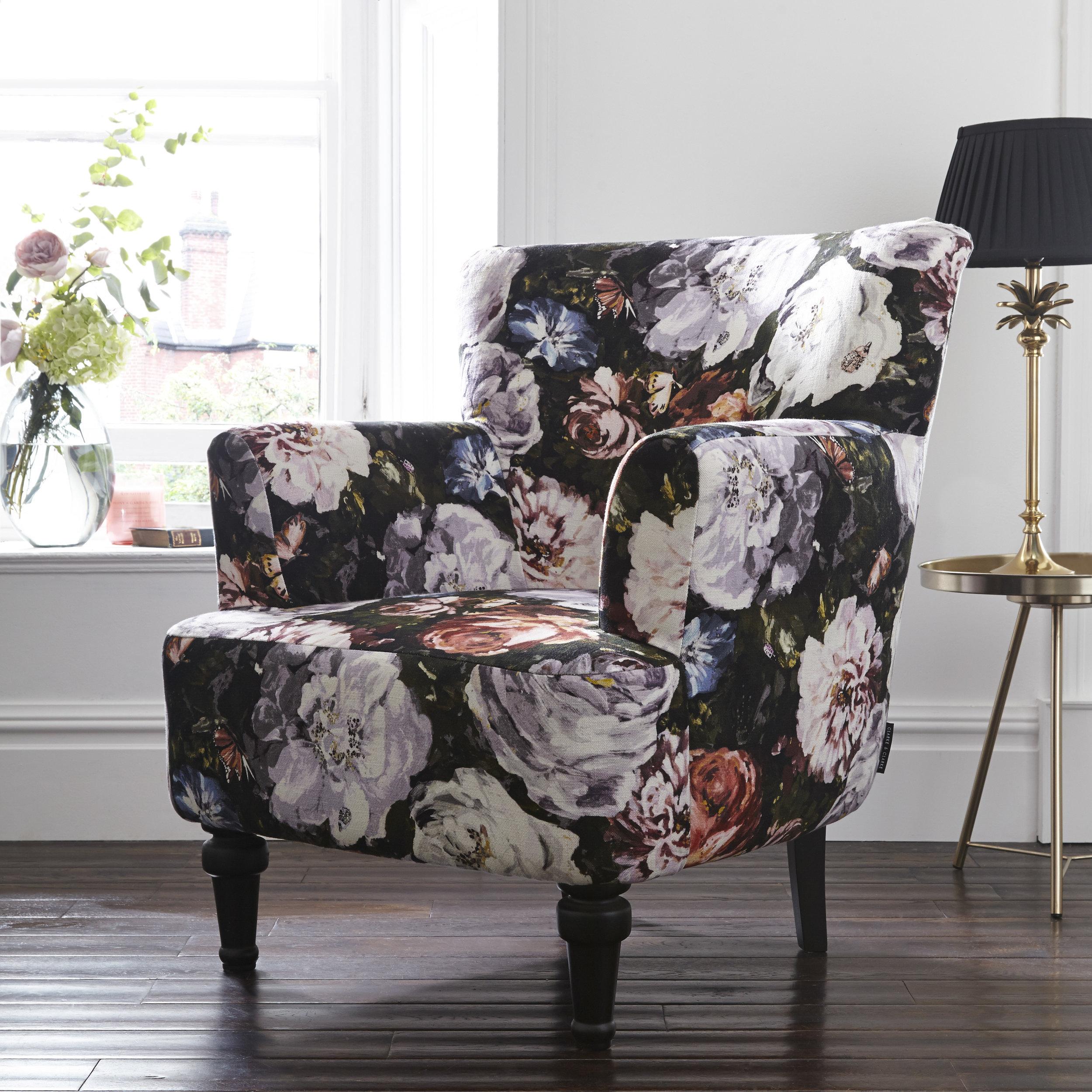 Dalston Chair – Floretta Blush