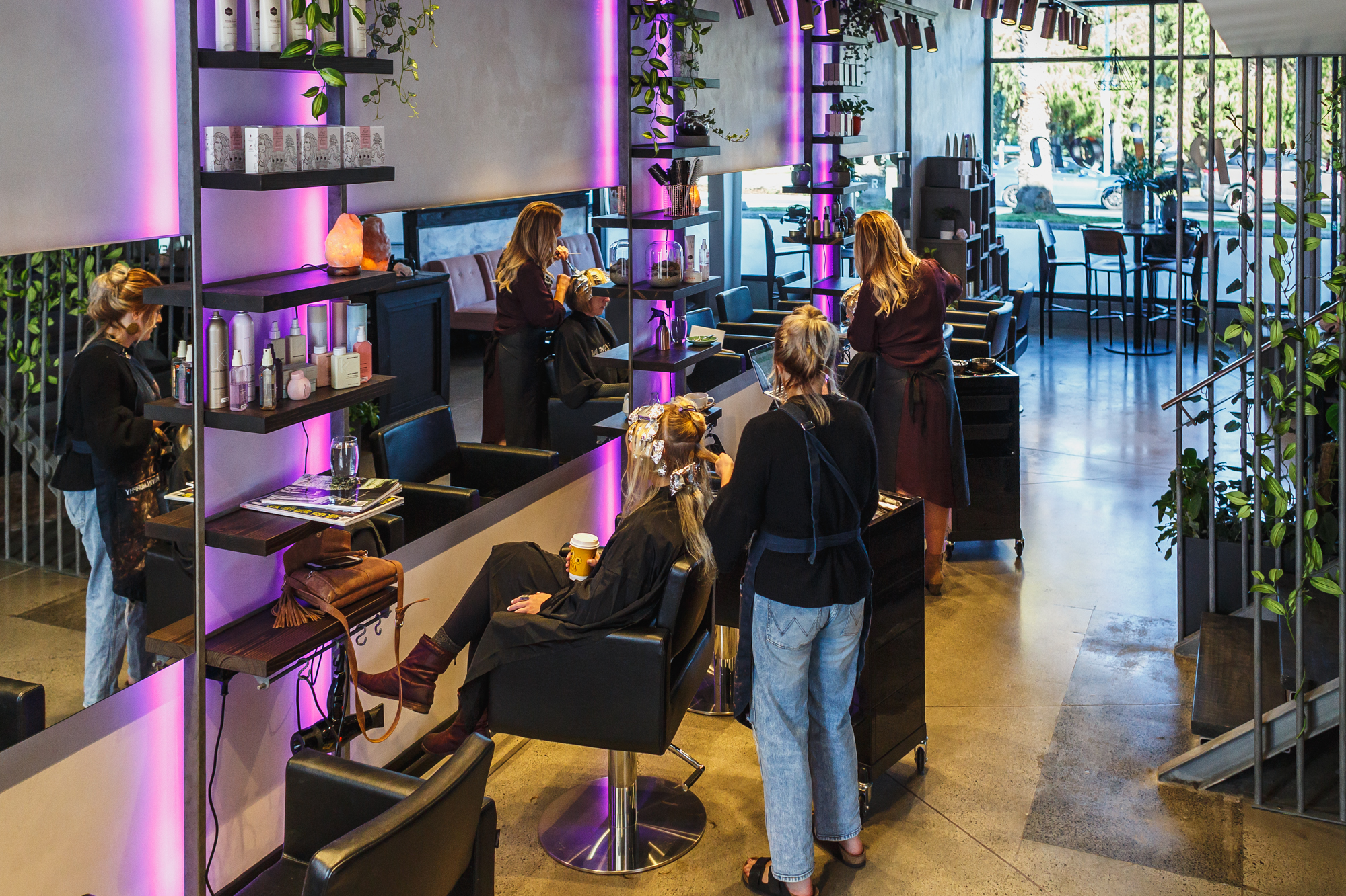Luxurious Salon Experience at Epsilon Hair Salon