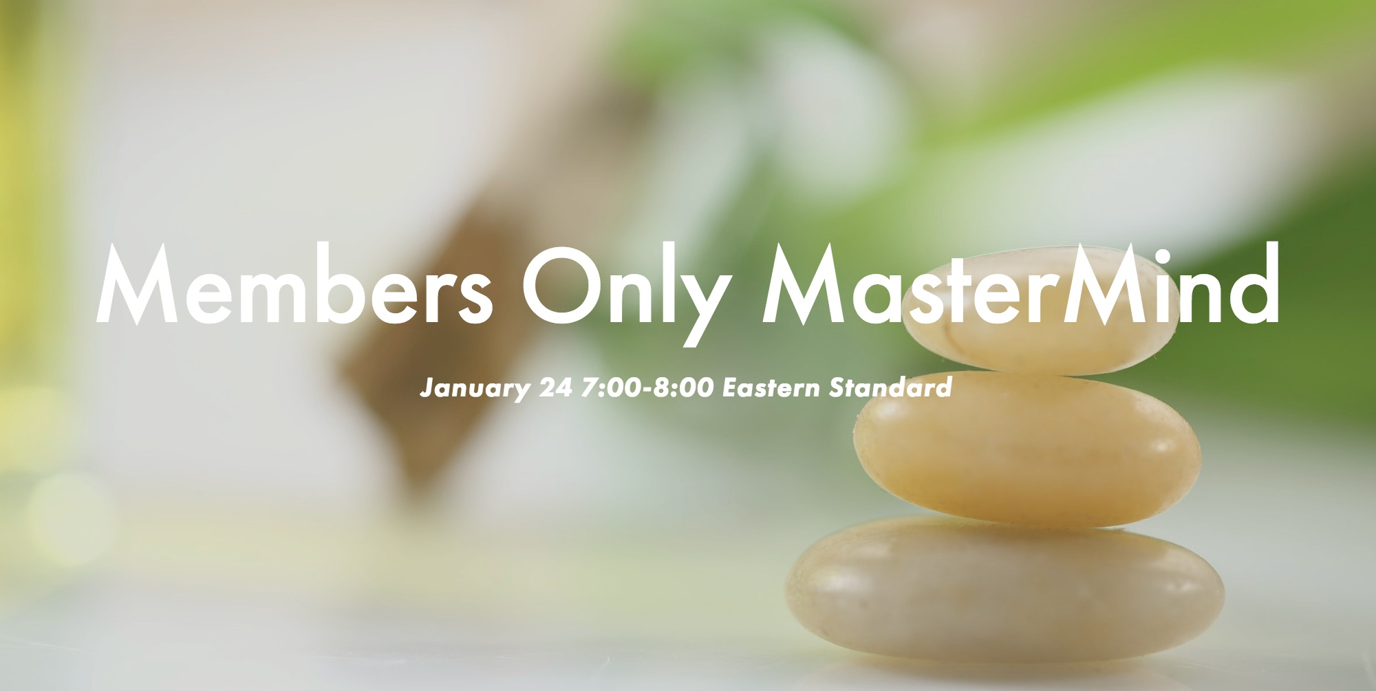 The Life Detox Members Only MasterMind