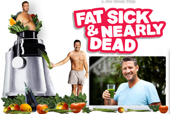 1. Fat, Sick & Nearly Dead - Website: http://www.fatsickandnearlydead.com/Trailer: https://www.youtube.com/watch?v=vNkpmPjOChkOn Netflix? Yes!