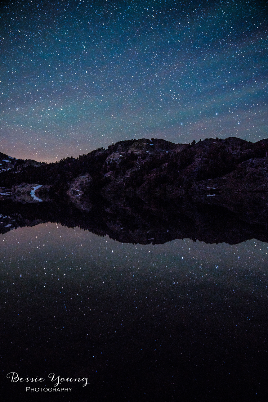 A Starry Night Photograph